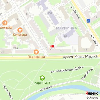 г. Петрозаводск, ул. Дзержинского,2 на карта