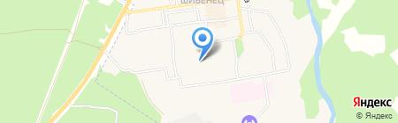 Обжора на карте Фокино