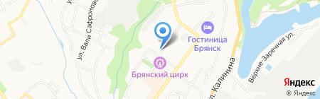 Престиж-Тур на карте Брянска