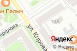 Схема проезда до компании Люкс в Петрозаводске