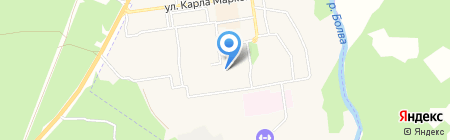 Общежитие на карте Фокино