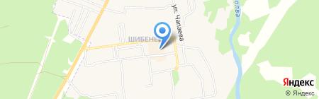 Ателье по пошиву и ремонту одежды на карте Фокино