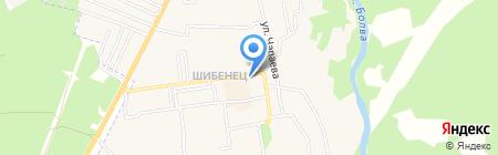 Ника на карте Фокино