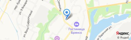 Оптика на карте Брянска