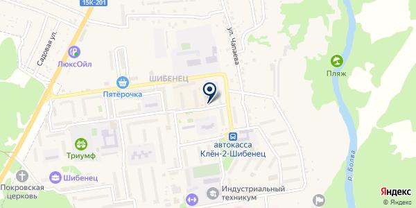 Магазин парфюмерии и косметики на карте Фокине