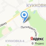Добрыня на карте Петрозаводска