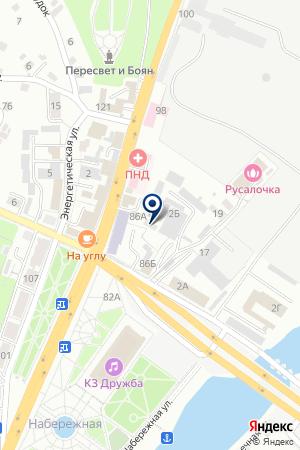 АВАРИЙНО-РЕМОНТНАЯ СЛУЖБА на карте Брянска