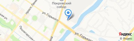 Мир продуктов на карте Брянска