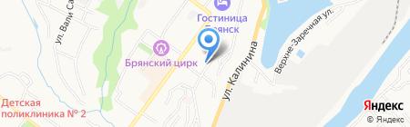 Ставр на карте Брянска