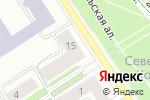 Схема проезда до компании ikra в Петрозаводске