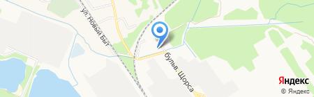Брянскпромбурвод на карте Брянска