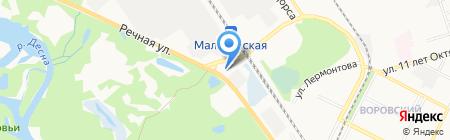 АГЗС на карте Брянска