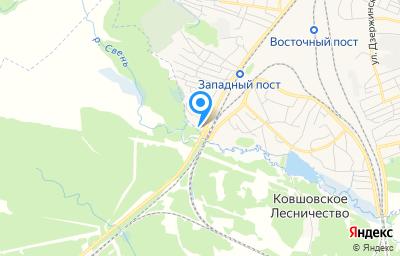 Местоположение на карте пункта техосмотра по адресу г Брянск, ул Запорожская