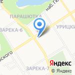 Управление Петрозаводской и Карельской епархии Русской Православной Церкви на карте Петрозаводска