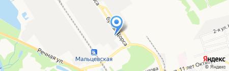 Времена года на карте Брянска