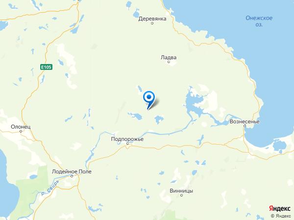 посёлок Токари на карте