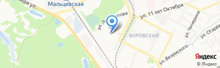 Детский сад №143 на карте Брянска