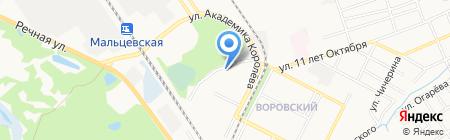 Почтовое отделение №31 на карте Брянска
