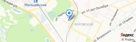 Брянский техникум энергомашиностроения и радиоэлектрики на карте Брянска