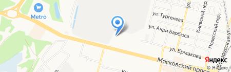 Прайм Тур на карте Брянска