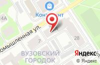 Схема проезда до компании Пакони в Петрозаводске