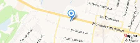 Продукты для семьи на карте Брянска