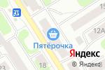 Схема проезда до компании Креатив в Петрозаводске