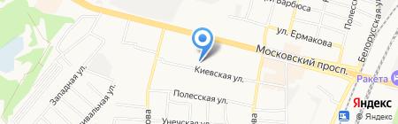 От всей души на карте Брянска