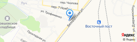 RED на карте Брянска