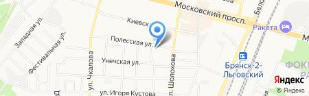 Фотостудия на карте Брянска