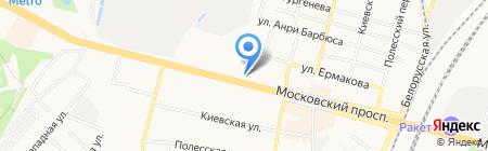 Мастерская по ремонту обуви на Московском проспекте на карте Брянска