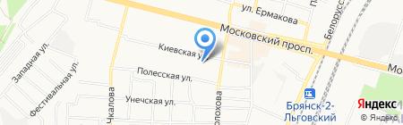 Мастер-Люкс на карте Брянска