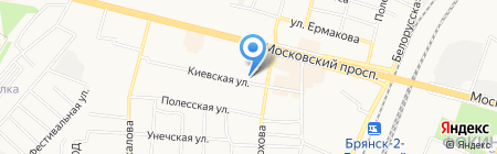 Брянский колледж искусств и культуры на карте Брянска