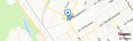 Пушкинский на карте Брянска