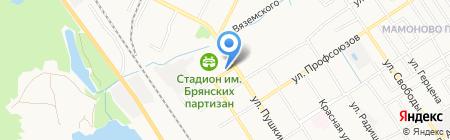 Рынок на карте Брянска