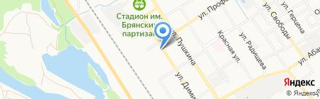Управление по делам гражданской обороны и защиты населения и территорий от чрезвычайных ситуаций г. Брянска на карте Брянска