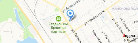 Азалия на карте Брянска