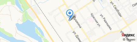Детская библиотека №4 на карте Брянска