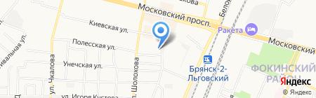 Школа ногтевого дизайна Екатерины Мирошниченко на карте Брянска