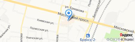 Белорусские колбасы на карте Брянска