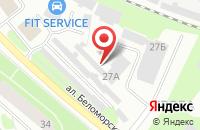 Схема проезда до компании Avto Декор в Петрозаводске