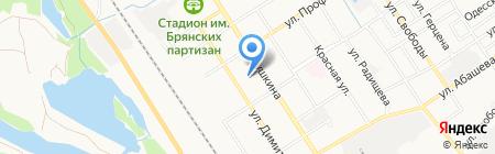 Ветеринарный кабинет на карте Брянска