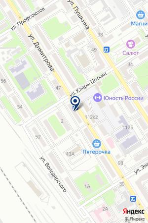 АПТЕКА ВРЕМЯ на карте Брянска