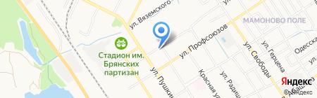 Продуктовый магазин на карте Брянска