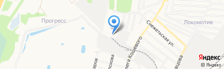 Интертрейд на карте Брянска