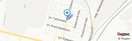 Каменный на карте Брянска