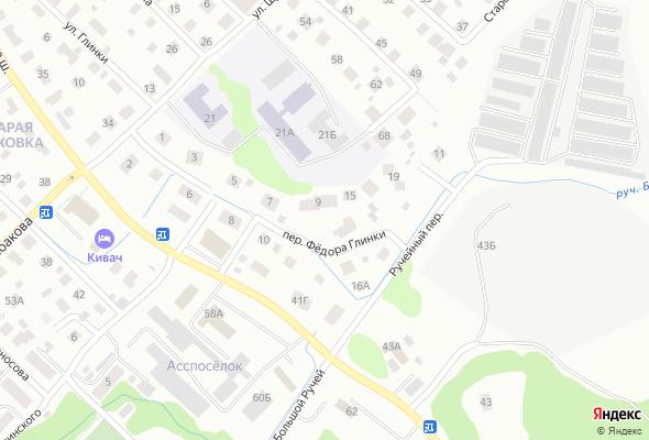 жилой комплекс по переулку Федора Глинки