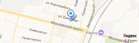 Детский сад №69 на карте Брянска