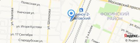 АртГранит на карте Брянска