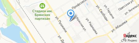 Магазин бытовой техники на карте Брянска